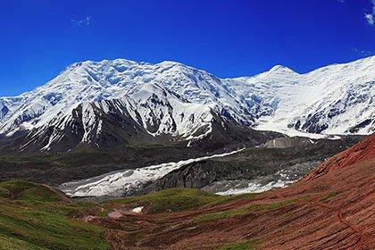Снежные вершины Памира