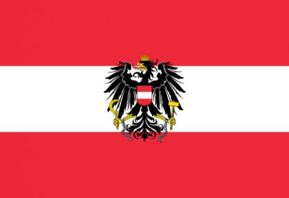Flag of Austria state 420x287 - Виза в Австрию