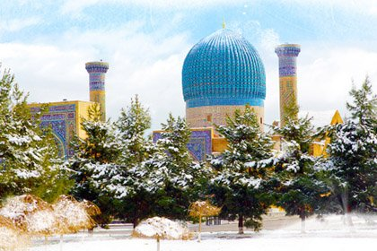Рождество в Узбекистане
