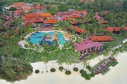 Отель Meritus Pelangi Beach & Spa Resort