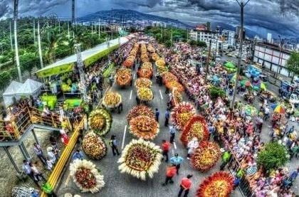 Ярмарка цветов в Сардинии