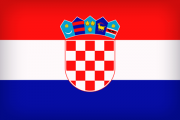 Croatia Large Flag 180x120 - Хорватия