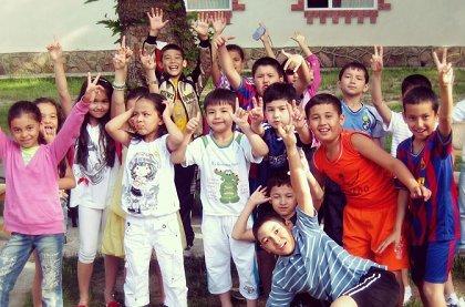 Узбекистан. Детский лагерь Тонг