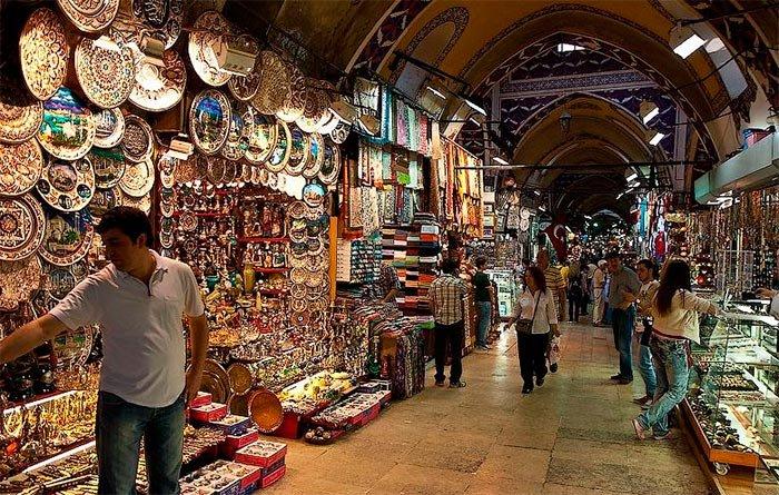 Grand bazar v Stambule 1 - Стамбул. Краткое пособие для начинающих путешественников.