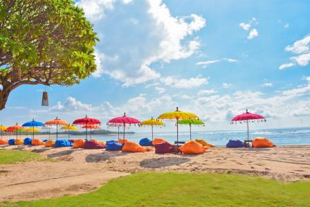 Отдых на пляже Индонезии