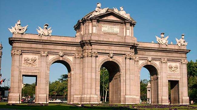 Puerta de Alcala - Мадрид