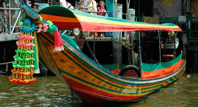 bangkok Long Tail Boatwikipedia.org  - Бангкок