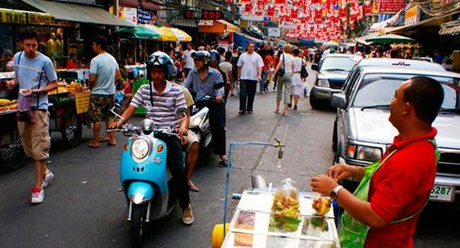 kaosan roud2 - Бангкок