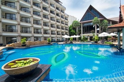 отель Garden Cliff Resort and Spa