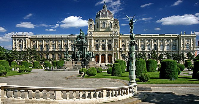 27 Kunsthistorisches Museum Maria Theresien Platz - Вена