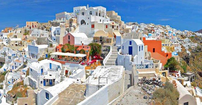GRT Greece Santorini Ciclades 22 - Пелопоннес