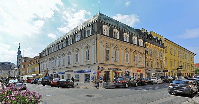 Klagenfurt Innere Stadt Domgasse 4 Buergerhaus 01092011 788 - Вена