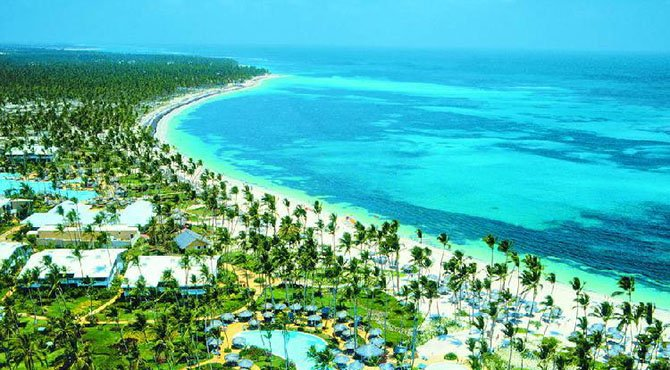 Пунта-Кана - популярный курорт на востоке Доминиканы