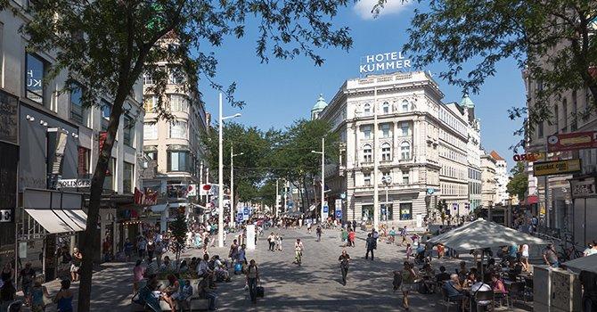 Wien 07 Mariahilfer Strae Shopping f - Вена