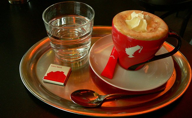 "Кофе ""Мария Терезия""."