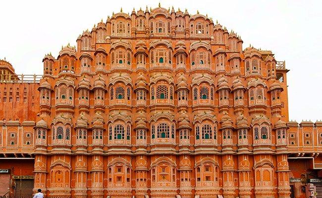 hava mahal - Храмы и дворцы Джайпура
