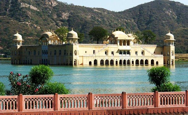 jal mahal - Храмы и дворцы Джайпура