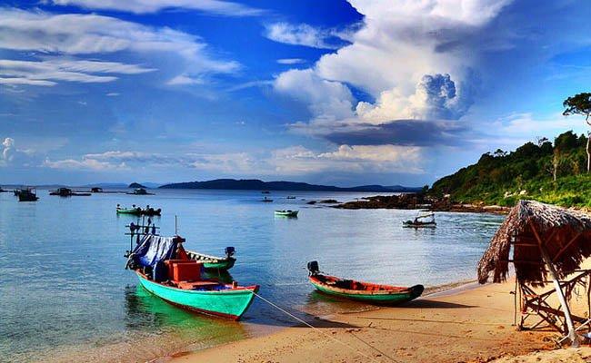 lodki v - Отдых на вьетнамских пляжах