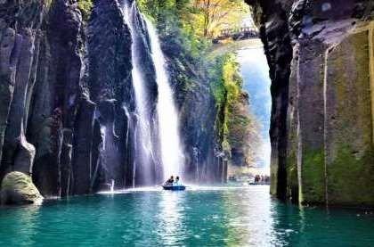 Самые красивые места Японии. о.Кюсю