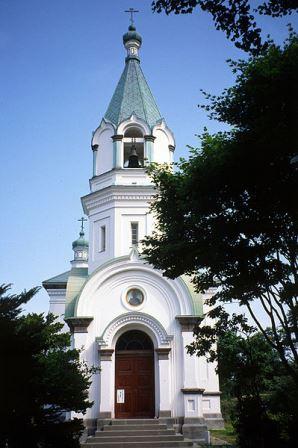 Hristianskaya tserkov v Hakodate Hokkajdo - Хоккайдо