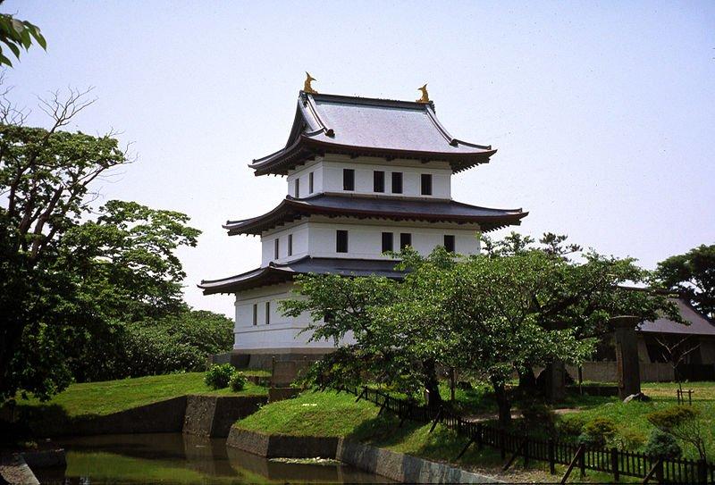 Matsumae zamok Hokkajdo - Хоккайдо