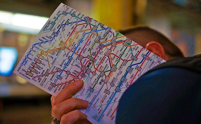 karta metro - Токио