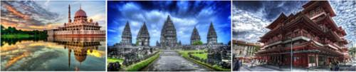 Роскошное путешествие по юго-восточной Азии