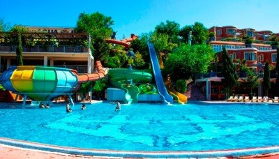 "Risunok7 2 - Баку ""Hotel and Aqua Park"""