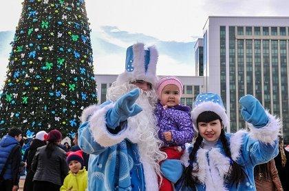 Новогодник каникулы в Узбекистане
