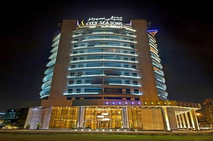 Отель City Seasons Hotel Dubai