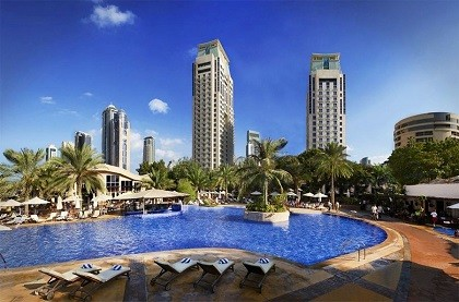 Отель Habtoor Grand Beach Resort and Spa