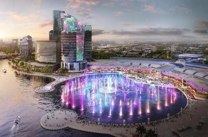 Отель InterContinental Dubai Festival City Hotel