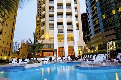 Отель Mövenpick Hotel Jumeirah Beach