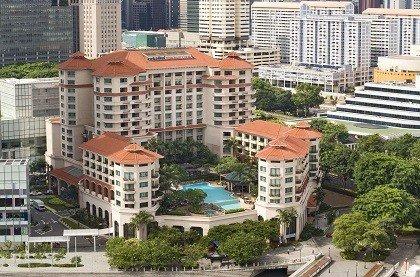 отель Swissotel Merchant Court Hotel