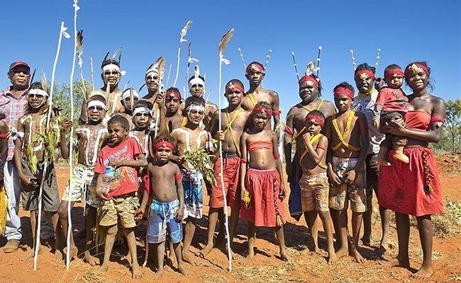 Местные аборигены.