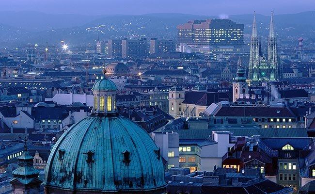 Столица Австрии — Вена.