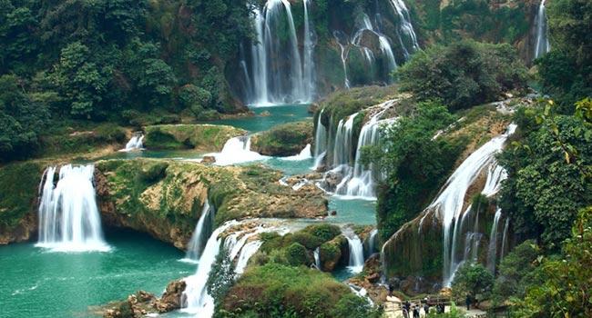 Водопады-Бахо