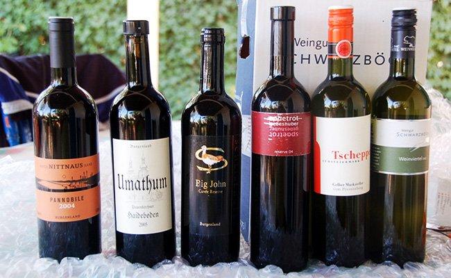 Австрийские вина.