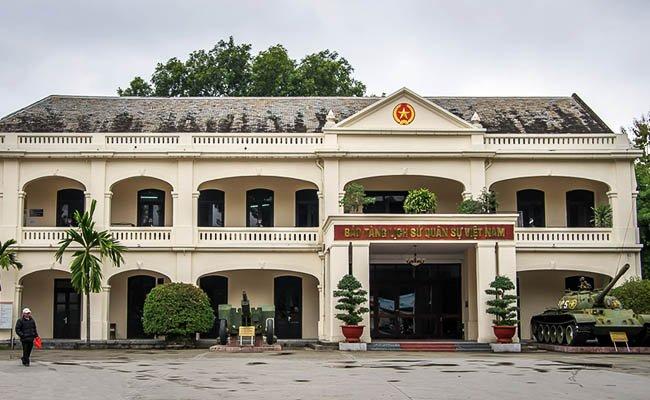 Вьетнамский музей военной истории в Ханое.