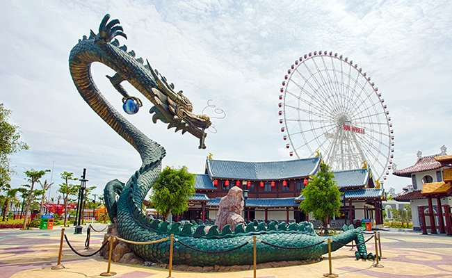 Парк развлечений Asia Park.