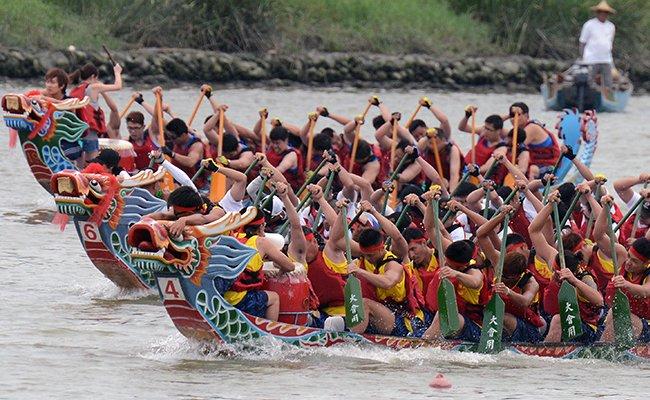 Фестиваль лодок в Шоктранге.