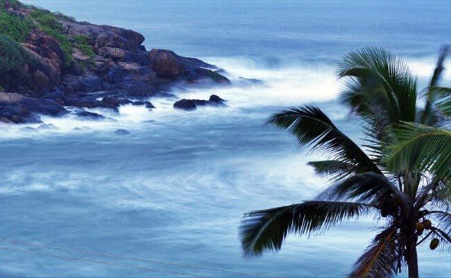 Переменчивая погода Кералы.