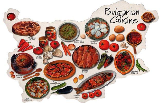 Блюда болгарской кухни.