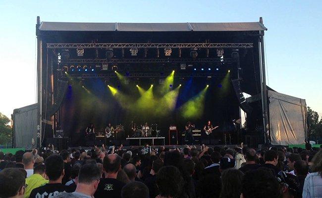 На фестивале «Каварна рок-фест».