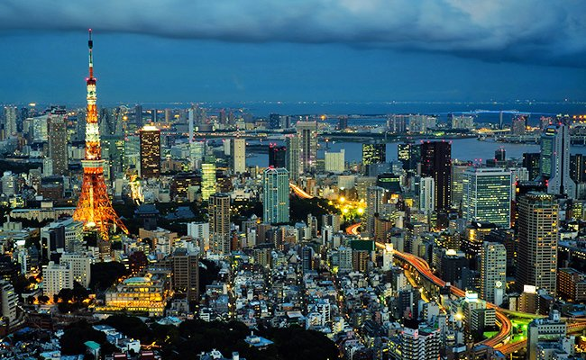 Столица Японии - Токио.